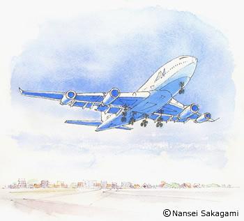 『ジャンボジェット機』