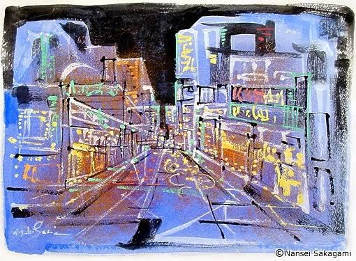 「繁華街」