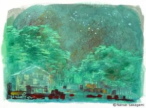 「甲山公園・星」