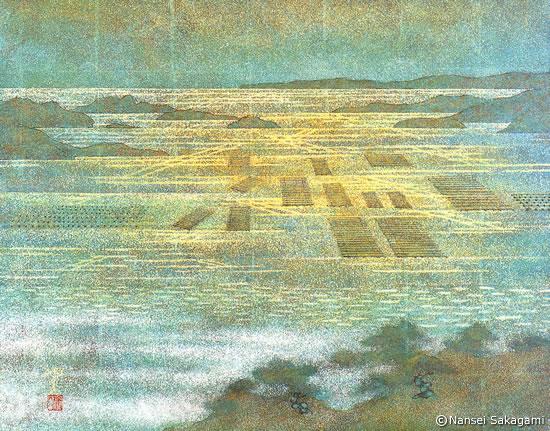 「真珠筏」