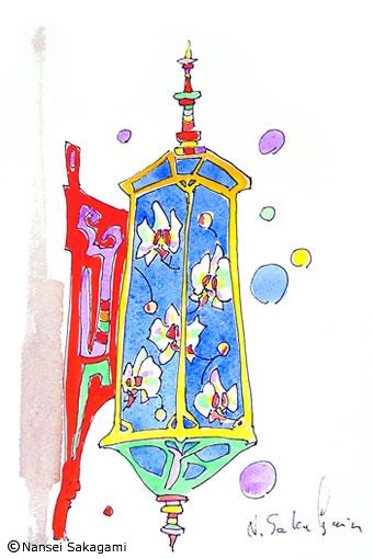 「花ランプ」