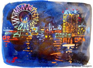 「小樽夜景」