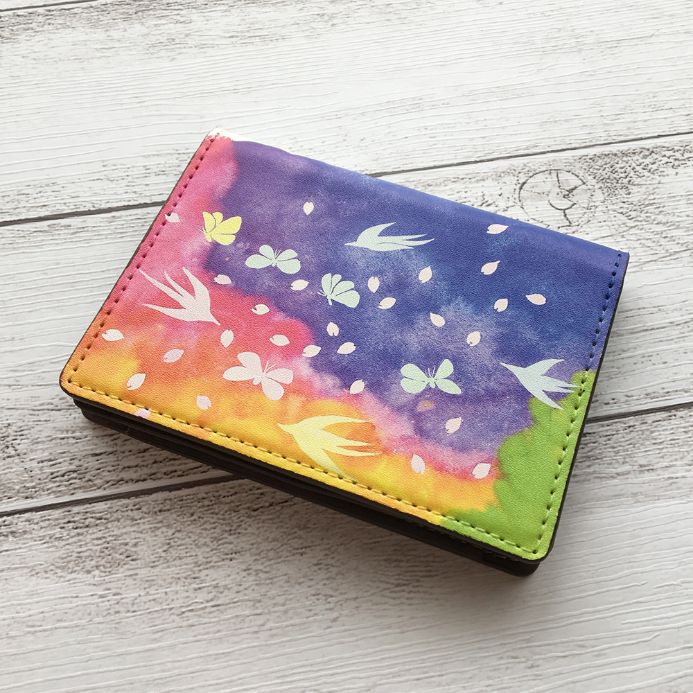 カードケース・名刺入れ「蝶々」(水彩)